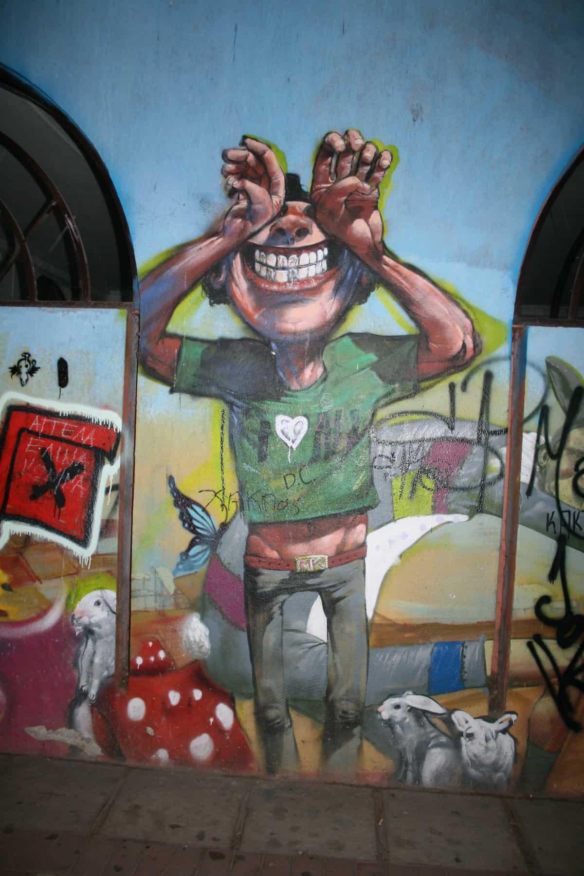 Grafitti i Thessaloniki