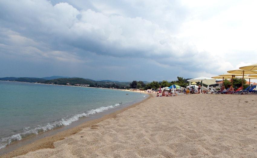 Toroni beach