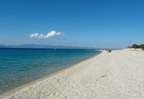 Paradise beach, några minuter söder från Perkochori